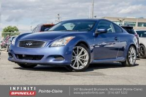 """2009 Infiniti G37 Coupe SPORT SUNROOF 19"""""""" MAGS BOSE IMPECCABLE"""