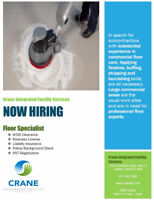 FLOOR SPECIALIST- JANITORIAL SERVICES