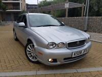 Jaguar X-Type 2.2 D Sport AUTOMATIC DIESEL+HISTORY+HEATED LEATHER+2 KEYS AUTO FACELIFT