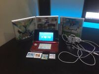 *New condition* Nintendo 3DS With 5 Games