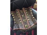 Vintage goth corset