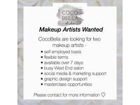 Makeup Artists WANTED - chair for rent