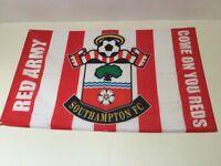 Large Southampton FC flag