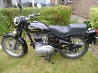 ROYAL ENFIELD BULLET 350, ONE PREVIOUS OWNER, NEW MOT, ONLY 7,200 MILES