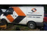 Ford transit swb breaking