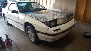 1986 Mazda RX-7 Rolling shell