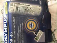 DS-40 digital voice recorder