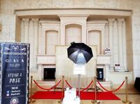 Hollywood Style Photo Booth with Red Carpet