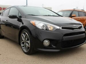2015 Kia Forte SX LUXURY! SUNROOF, NAVI, BACKUP CAM, LEATHER, HE