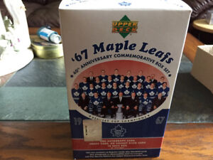 Upper Deck 1967 Toronto Maple Leafs Hockey Card Set