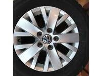 VW Transporter Highline Alloys