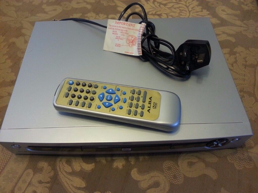 ALBA DVD PLAYER WITH REMOTE (FOR £15)