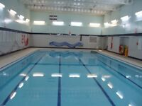 Small group swimming lessons at Clacton County High School - Tendring School of Swimming