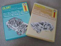 HAYNES owners workshop manuals AUSTIN AND BLMC car book