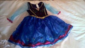 Frozen Anna dress 4-6X