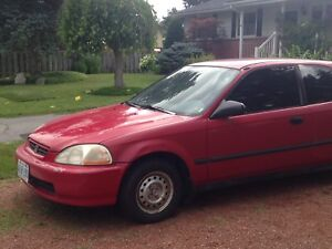 Honda Civic 1996 for sale as is (hatchback)