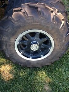 4 bolt Polaris rims and tires