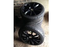 225/40ZR18 88W Alloy wheels + tires