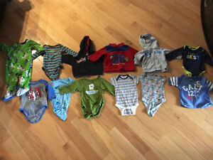 Boys size 12 months clothing LOT