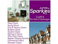 SPARKLES CLEANING SERVICES CARDIFF AND THE VALE, Call for your FREE QUOTE
