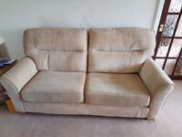 GPLAN 3 SEATER SOFA AND 2 CHAIRS