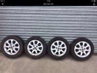 Volvo V70 alloy wheels x4