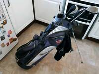 Wilson staff stand bag & clubs