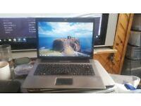 hp compaq 6720s windows 7 80g hard drive 2g memory dvd drive charger wifi
