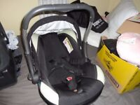 car seat silver cross in good condition ready to use up to about one year old