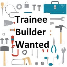 Trainee Builder - Would suit school or college leaver