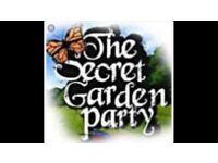 Secret Garden Party full weekend ticket £170.00