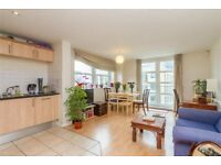 Beautiful and spacious one double bedroom apartment in Clapham with balcony and private parking