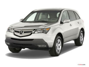 Looking for 2008/9 Acura MDX with NAV/back camera/heated seats