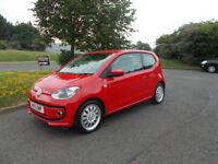 VOLKSWAGEN UP BLUEMOTION TOP OF THE RANGE STUNNING 2013 ONLY 20K MILES BARGAIN £5250 *LOOK*