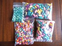 Selection of colourful wooden beads!