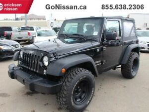2015 Jeep Wrangler Lift Kit, Sport, Awesome Look, low KMS..