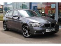 2012 BMW 1 SERIES 116i Sport 17andquot; ALLOYS and BLUETOOTH