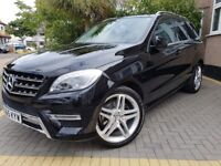 2015 65 Plate Mercedes Benz ML250 Sport / 21 Inch Wheels / SAT Nav / Low Mileage / Panoramic Roof