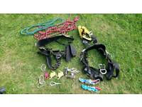 Rope access/ harness/climbing equipment