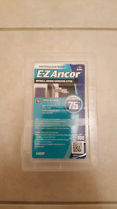 EZ Ancor twist and lock drywall anchor plugs