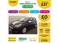 VAUXHALL CORSA 1.4 T SRI VX-LINE SE ENERGY LIMITED ED Sting FROM £31 PER WEEK!