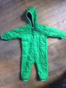 Patagonia Snow Suit - 12 months