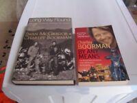 EWAN MCGREGOR & CHARLEY BOORMAN BOOKS