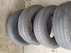 Set of used 14inch tires