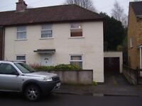 3 bedroom semi detached house for rent with garage (kingswood BS15 1PL)