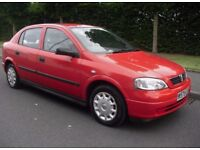 Vauxhall/Opel Astra 1.6i Club ( a/c ) 2000 (w reg) ++ 1 OWNER FROM NEW ++