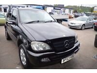 2004 Mercedes Benz M CLASS ML270 CDI AUTO IN GOOD CONDITION MOT UNTIL MAY 2018