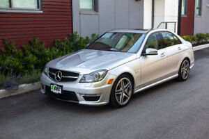 2013 Mercedes-Benz C-Class C63 AMG Track Pack Sedan