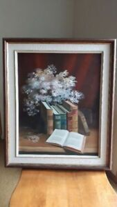 New Price  - BEAUTIFUL ORIGINAL OIL PAINTING, on BOARD