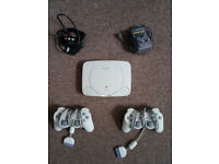 Sony Playstation One (PS1) 2 controllers and 11 games